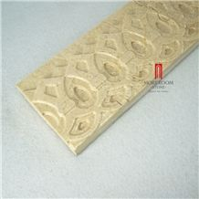 3d Composite Cappucino Marble Decors Border Design