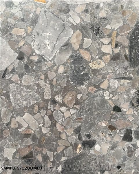 971 Cement Tile Terrazzo Floor Tile Slab From Hong Kong