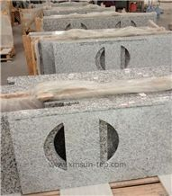 Swan White Granite Kitchen Counter Topsky Grey Granite Bench Top