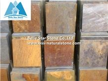 Chinese Multicolour Riven Slate Tiles,Copper Rust Split Face Slate Pavers,Multicolor Slate Patio Stones,Natural Paving Stone,Rusty Slate Wall Tiles,Slate Pavers,Multicolor Slate Floor,Walkway Pavers