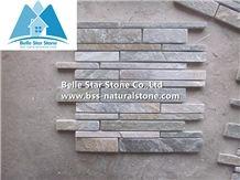 Oyster Split Face Slate Mosaic,Stone Mosaic Pattern,Desert Gold Quartzite Mosaic Tiles,Silver Sunset Mosaic Flooring,Golden Honey Quartzite Mosaic Wall Tiles,Oyster Stone Mosaic