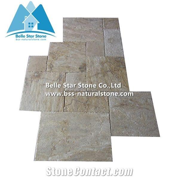 Travertine French Patterntravertine Floor Tilestravertine