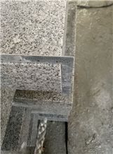 G603 Grey Granite Kerbstone,China Sardinia,Crystal Grey,G 603,Gamma Biancosilver Grey Granite,Sesame White Granite,Crystal Grey Granite,Light Grey Granite Curbstone,Curbs