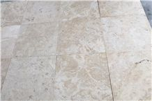 Commercial Light Classic Travertine Honed Filled Cross Cut Slabs & Tiles, Turkey Beige Travertine