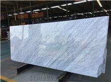 Bianco Carrara Slabs White Carrara Slabs Italian White Marble Slabs Carrara Slabs/High Quality&Best Price White Marble Slabs/Hot Sale Perfect White Marble/Luxury Classic White Marble Big Slabs