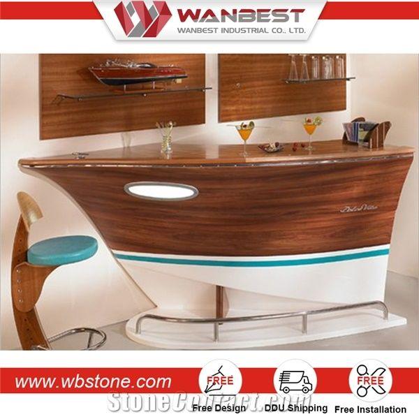 Merveilleux Home Bar Furniture Sale Boat Shaped Home Barcorner Bar Cabinet Furniture