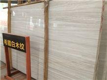 Greek White Wood,Veria Stripes,Veria Vein Marble,Veria White Vein,Veria White Marble Line,Veria White Venato,Veroia Stripes Marble Tiles & Slabs & Cut-To-Size (Good Price)