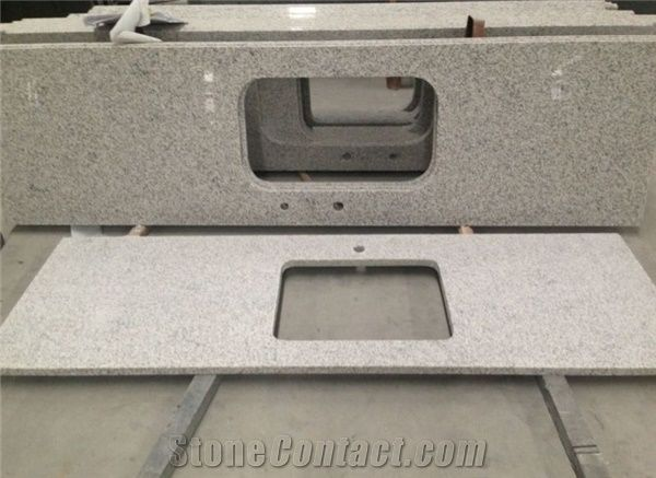 Lowes Natural Kitchen Prefab Granite Countertops Colors White Grey G603
