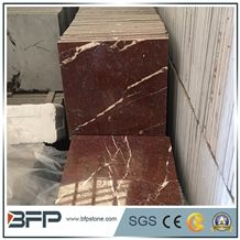 Collemandina Red Marble Tiles,Marrone Collemandina Wall Tiles,Ritsonas Red Marble Floor Tiles