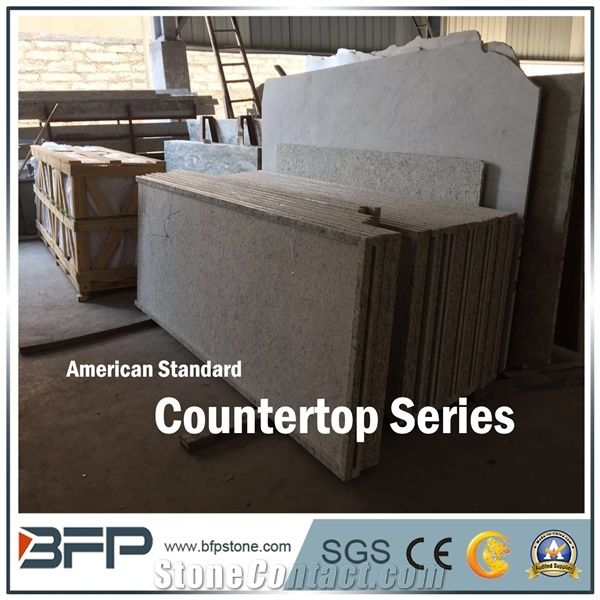 White Granite Countertop Tabletope America Standard