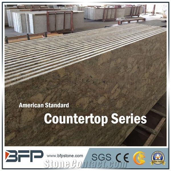 Yellow Granite Tabletop America Standard Countertop Series
