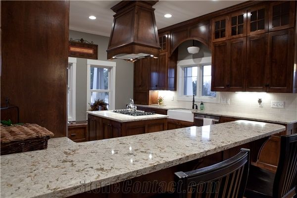 """Custom Kitchen Countertops or Worktops,The Hostess""""S Favorite from China -  StoneContact.com"""