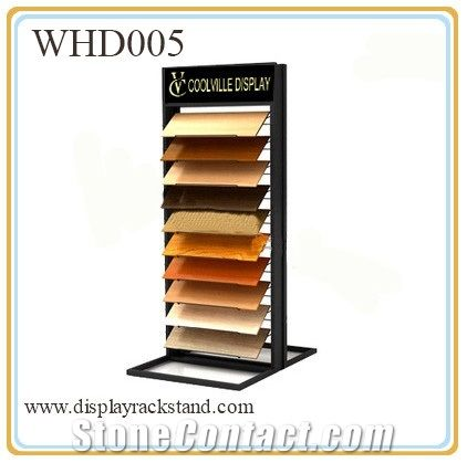 Waterfall Hardwood Display Building Rack For Exhibition Metal Steel