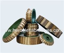 Edge Profiling Tools Metal Bond Profiling Wheel