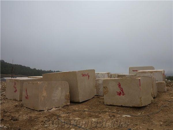 Golden Marble Blocks : Marble golden rose blocks beige from china