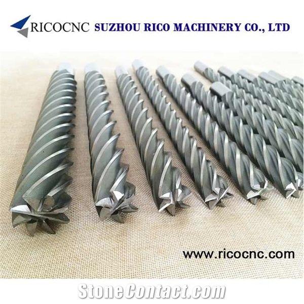 Cnc Foam Machine Tool, Flat End Foam Cutters, End Mill Foam