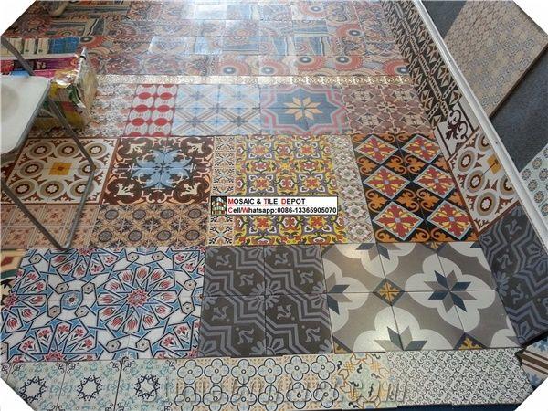 Glazed Ceramic Tile Porcelain Floor
