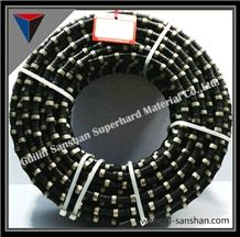 11.6mmmarble Blocking and Squaring Diamond Cables,Stone Cutting,11mm Marbles Cutting Tools,Diamond Tools