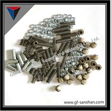 Diamond Wire Accesories,Wires Tools,Steel Wires,Springs,Joints,Washers,Different Fittings