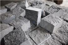 Kirikovan Black Gabbro Cobble Stone