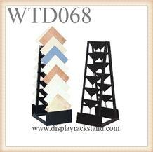 Display Stand Stone Tile Display Stand,Waterfull Tile Display Rack Metal Display Stand Display Stand for Tile Ceramic Tile Rack Display Floor Tile Display Rack Mosaic Tile Display Rack