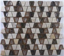 Crackle Ceramic Mosaic Tile,Backsplash Mosaic Tile