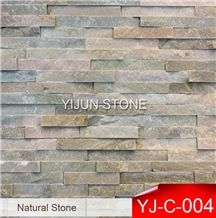 Hebei, China Natural Wall Stone Ledge, Stone P014 Real Stone Wall Cladding, Slate Wall Panel