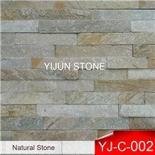 Hebei Province, Yellow Wood Cultural Stone, China Natural Stone,P014 Cultured Stone Ledgestone Wall Pannel