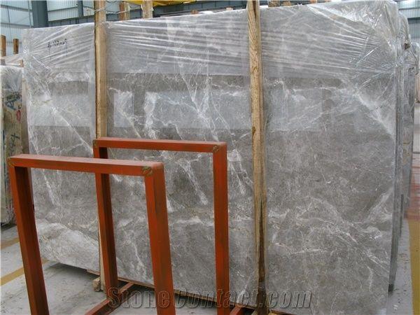 Italian Grey Marble Slab Block Black Marble Tiles Natural