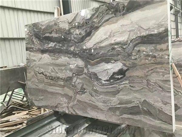 Venice Grey Slab Grey Marble Tiles Natural Building Stone