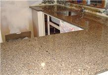 Saudi Pink, Sweet Pink Granite, Royal Salmon Granite Kitchen Countertop