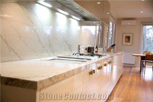 Wondrous Calacatta Marble Kitchen Bench Top From Australia 525404 Machost Co Dining Chair Design Ideas Machostcouk