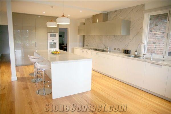 Terrific Calacatta Marble Kitchen Bench Top From Australia 525404 Machost Co Dining Chair Design Ideas Machostcouk