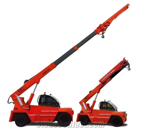 Telescopic Boom Forklift Loader, 10 Tons Boom Forklift Crane