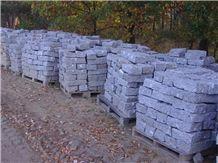 Vahlovice Granite Landscaping Stones, Cobbles