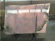 Pink Onyx Onyx Tiles & Slab, Iran Pink Onyx