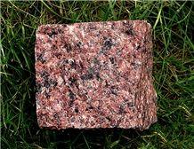 Cube Stones & Pavers Leznykivske Red Granite
