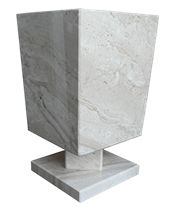 Daino Reale Marble Decorative Vases