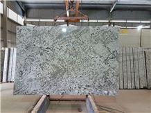 India Alaska White Granite Polished Slabs