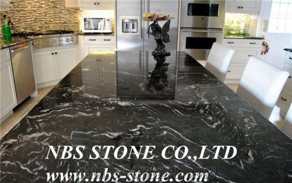 Stylish Black Forest Granite Silver Paradiso Granites