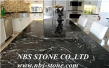 Stylish Black Forest Granite,Silver Paradiso Granites, India Black,Kitchen Tops,Polished Countertops,Low Price