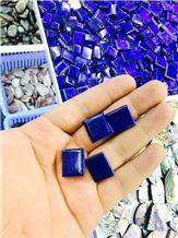 Lapis Lazuli Cube, Lapis Lazuli Semiprecious Stone Gemstone & Precious