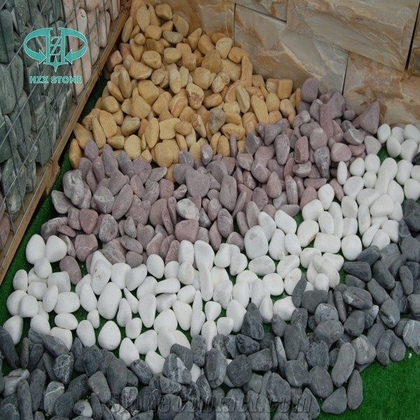 Hot Sale Polished Different Sizes Pebble Stone , Pebble