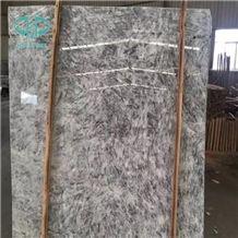 Ice Grey White Silver Fox Marble/Snow Fox Marble Slabs