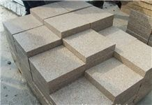 Own Factory Cheapest Price Chinese Polished G682/Rusty Yellow/Sunset Gold/Golden Sand/Giallo Ming/Giallo Rusty/Ming Gold/Yellow Rust/Desert Gold/Giallo Fantasia Granite Cube Stone & Pavers