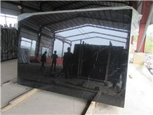 China Black Nero Marquina Marble Polished Big Random Slabs & Tiles for Wall and Floor, Natural Building Stone Flooring,Feature Wall,Pattern,Mosaic , Exterior Clading