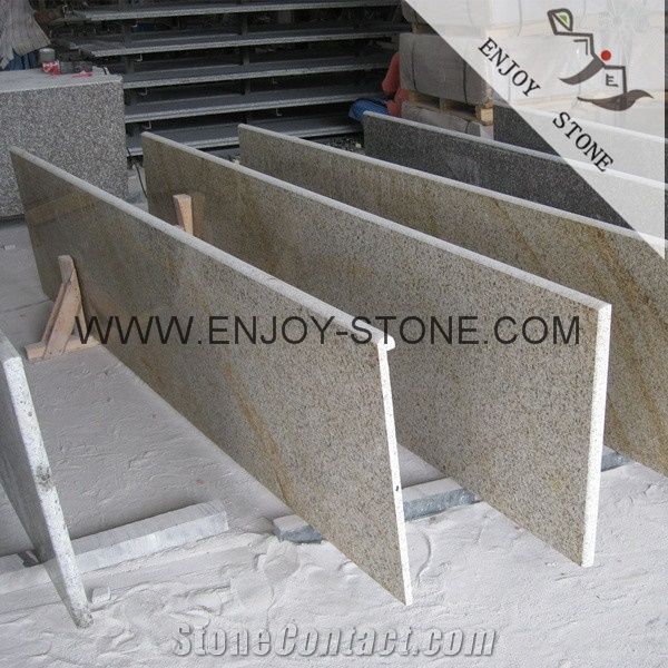 China G682 Rusty Yellow Granite Swimming Pool Coping Tiles ...