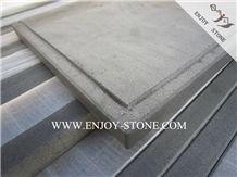 China Grey Basalt Window Sills,Light Grey Andesite Stone Window Frame,Honed Zhanpu Grey Basaltina Window Parapets,Skirting Boards for Exterior&Interior Decoration