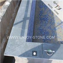 China Zhangpu Dark Green Granite,Olive Green Granite Tile,Swimming Pool Granite Tile,Swimming Pool Edge Tile,Pool Pavers Around Swimming Pool,Pool Deck Drain