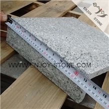 Chinese White Granite G603 Ash Grey,Light Gray Granite,Padang Light,Sesame White Mushroom Stone for Flooring & Wall Cladding,Split Face Mushroom Flat Stone,Mushroom Corner